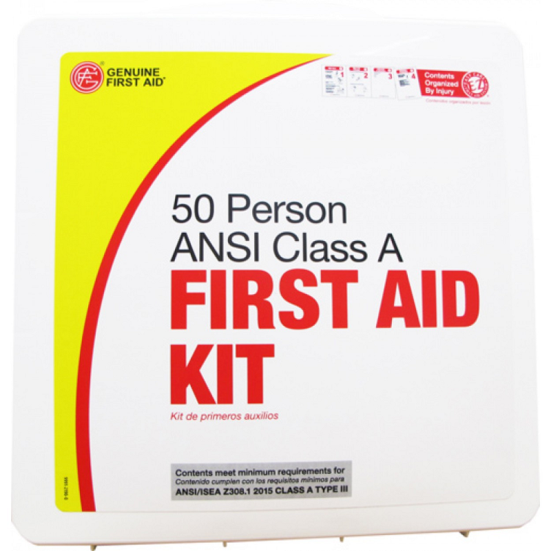 ANSI Class A First Aid Kit - 50 Person