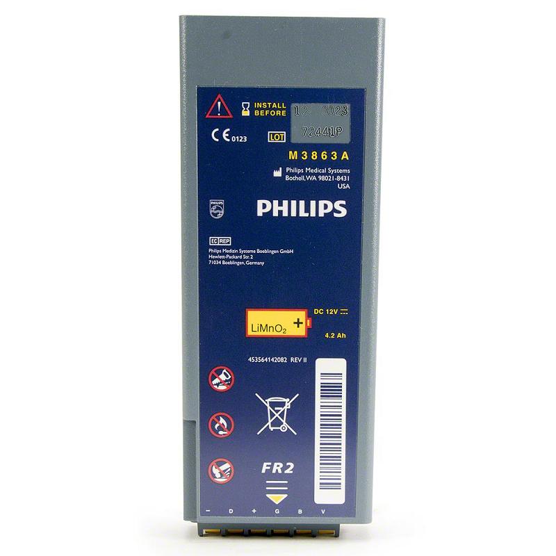 Philips HeartStart FR2 AED Battery M3863A